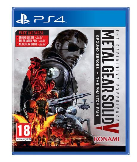 Metal Gear Solid V : The Definitive Experience annoncé