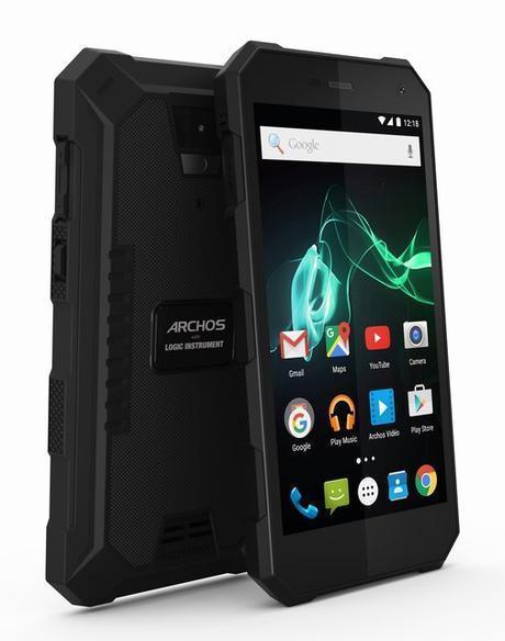 IFA 2016 : Archos lance un smartphone endurci