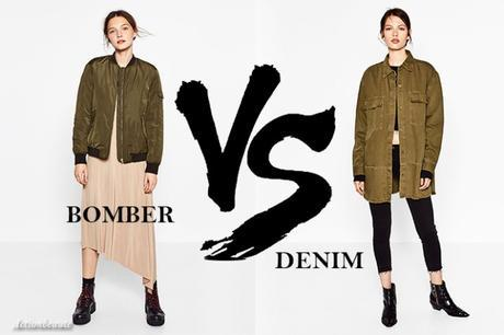 BOMBER OU DENIM? THAT IS THE QUESTION!