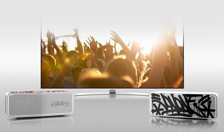 TV SOUND SYNC enceintes Music Flow  TV LG