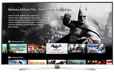 GameFly, l'application pour jouer sans console smart TV LG