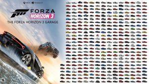 Forza Horizon 3 – La liste complète des véhicules