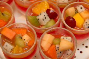multi  on top fruit jelly strawberries