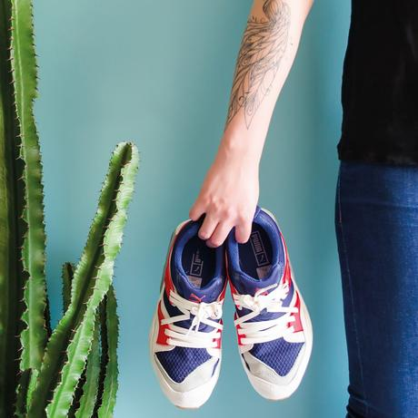 Sneakers : blaze of Glory Athletic