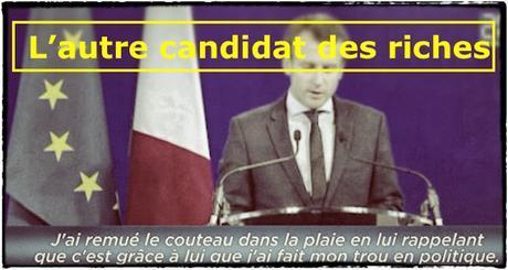 Macron, l'autre candidat des riches. (semaine #487)