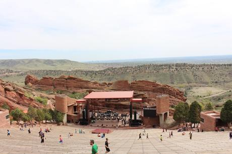 red rocks amphitheatre colorado denver