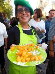 Paris distribution gratuite fruits Marchés Flottants du Sud Ouest