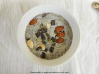 Petit déjeuner aux graines de chia