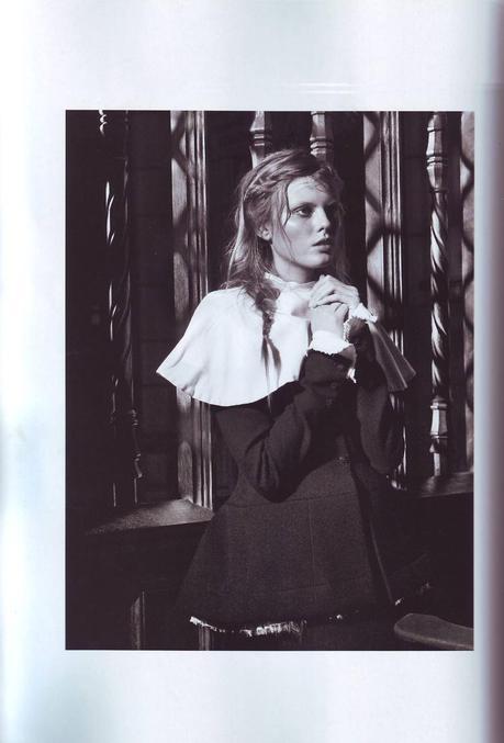 #ThrowBackFashion Nun Head by Sebastian Faena for Pop Magazine Fall/Winter 2008