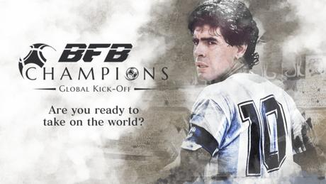 Maradona rencontre Captain Tsubasa dans BFB Champions: Global Kick Off