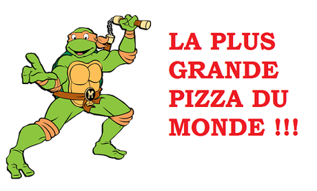 record plus grande pizza du monde