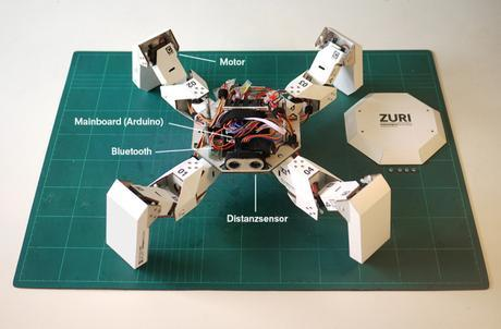 Zuri le robot en kit et en papier