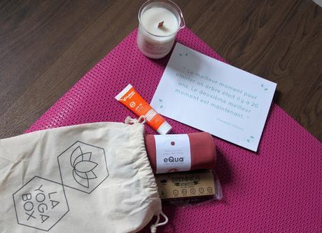 Yoga box, une box sous le signe du bien-être