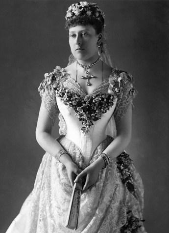 La princesse Béatrice, dernière fille de la Reine Victoria