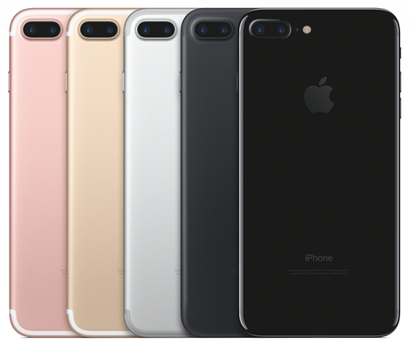 iphone7 les couleurs disponibles