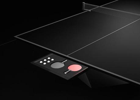 Voilà à quoi ressemble l'une des tables de ping-pong les plus luxueuses au monde