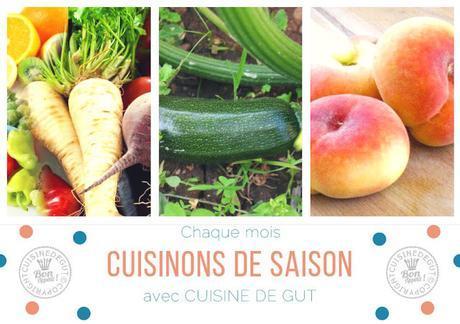 Thon snacké sur salade de pois chiches aux courgettes et fenouil grillés