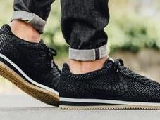 "Nike Cortez Leather Premium ""Black Anaconda"""