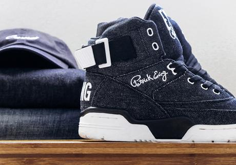Ewing Athletics 33 Hi Canvas et Denim