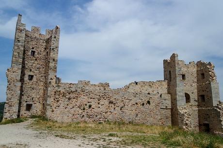 hyères var ville haute vieille médiéval moyen âge château ruines