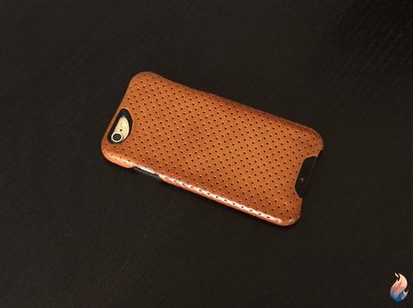 Coque Vaja London Grip Piqué pour iPhone 6s: le summum