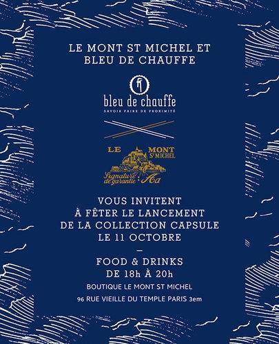 BLEU DE CHAUFFE x LE MONT SAINT MICHEL