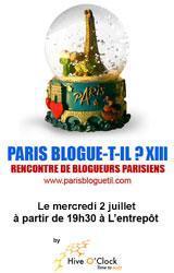 Hive O Clock - Paris blogue-t-il ?