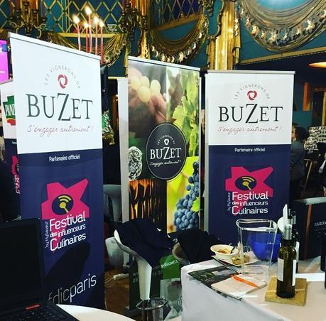 Le stand Buzet  (c) D'une île à Paris