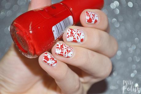 Nail art sanglant pour Halloween