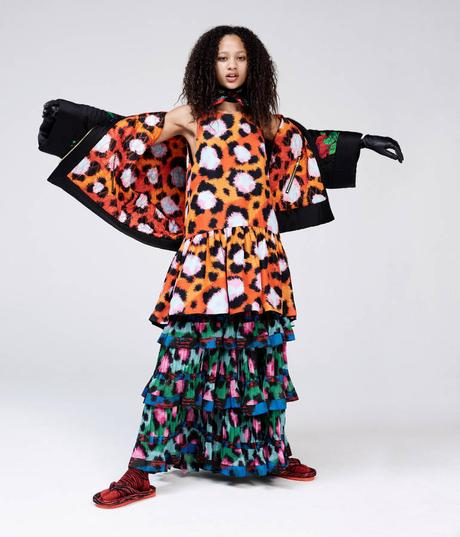 Le look book de la collection Kenzo pour H&M...