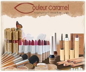 maquillage bio couleur caramel