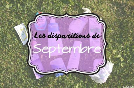 ✞ Les disparitions de Septembre 2016 ✞
