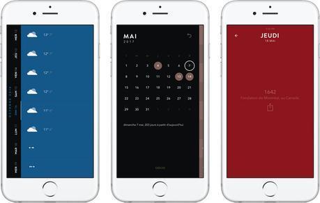 Timepage de Moleskine: un sublime calendrier 4 saisons