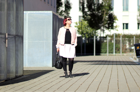 blog mode nantes bomber mademoiselle R la redoute
