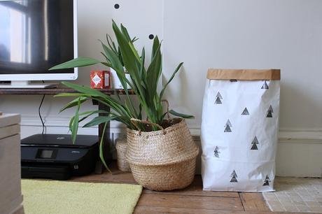 sac de rangement papier Kraft
