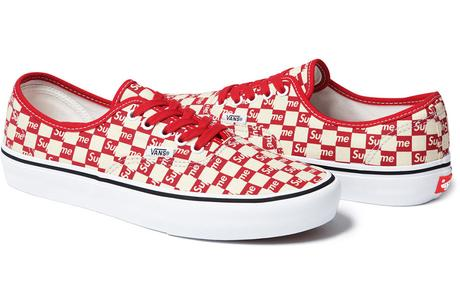 SUPREME X VANS – F/W 2016 COLLECTION