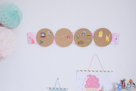 DIY : Un support pour mes Pin's ! ♥