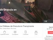 nuit avec Airbnb dans chateau Dracula Roumanie pour Halloween