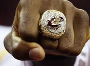 Retour remise bagues champions NBA, Cleveland Cavaliers
