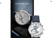 Emporio Armani dévoile montres connectées