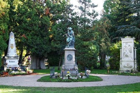 vienne cimetière central zentralfriedhof tombe mozart strauss beethoven