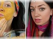 Curcuma, Ubtan masques beauté ayurvédiques