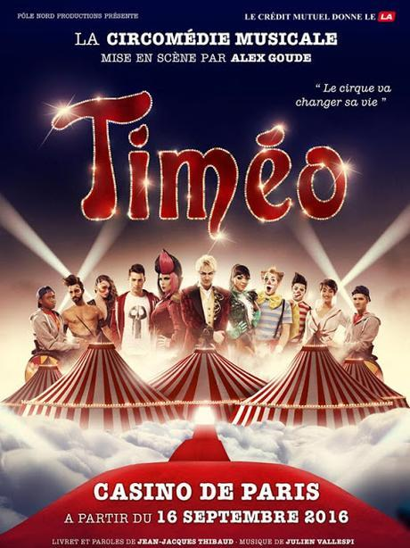 Timéo, une circomédie musicale pour toute la famille