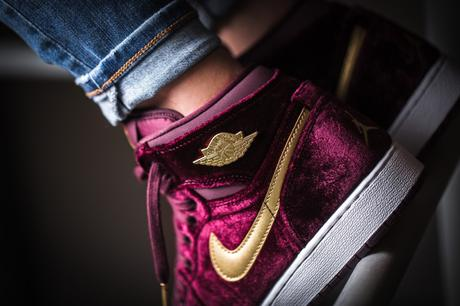 air jordan 1 retro high premium heiress velvet