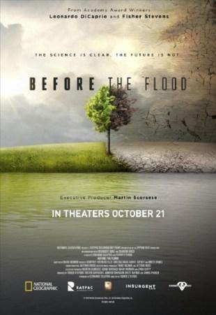 [Critique] BEFORE THE FLOOD (AVANT LE DÉLUGE)
