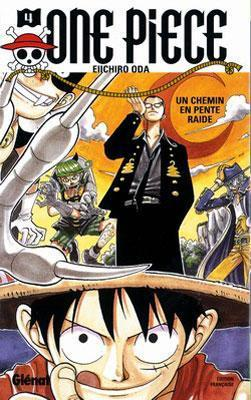 Couverture One Piece, tome 04 : Un chemin en pente raide