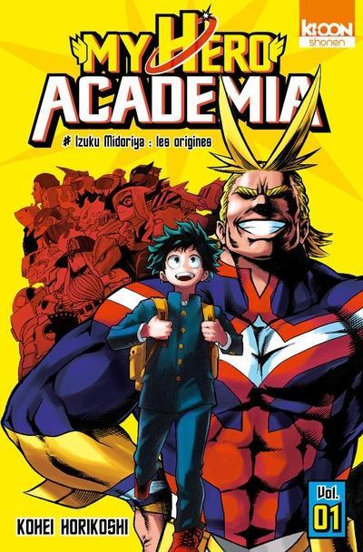 Couverture My Hero Academia, tome 01