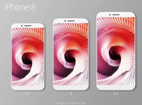 Un iPhone 8 qui se décline en 3 versions