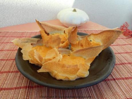 recette tartelettes butternut aux epices