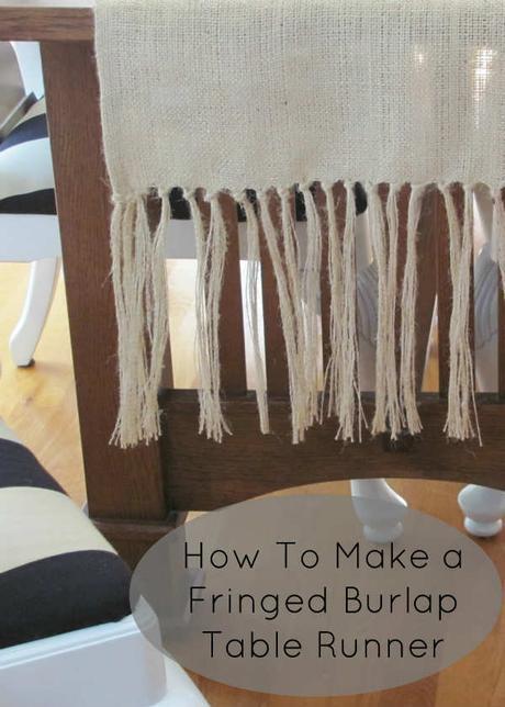 10 chouettes objets à fabriquer avec de la toile de jute